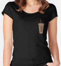 Coffee Talk with Zane and Heath Women's Fitted Scoop T-Shirt