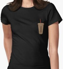 Coffee Talk with Zane and Heath Women's Fitted T-Shirt
