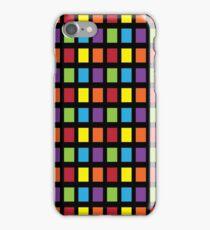 Rainbow Squares iPhone Case/Skin