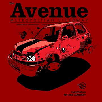 Avenue: Metropolis Speedway (Nissan Micra/March) by Roobeh