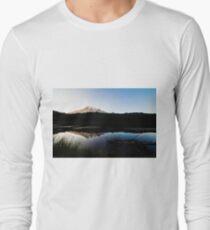 Reflections Lake - Mt Rainier National Park Long Sleeve T-Shirt