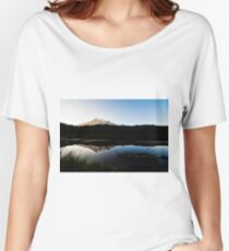 Reflections Lake - Mt Rainier National Park Women's Relaxed Fit T-Shirt