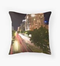 North Terrace by Night II Throw Pillow