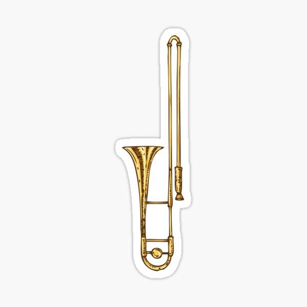 Trombone Sticker