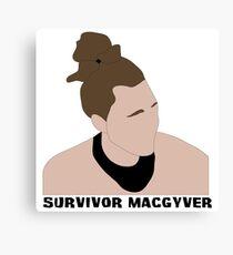 Survivor MacGyver Canvas Print