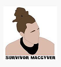 Survivor MacGyver Photographic Print