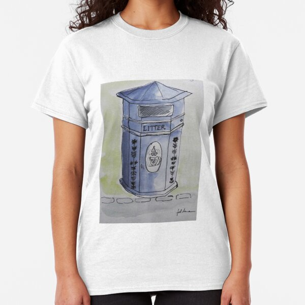 LITTER - WATERCOLOUR AND INK Classic T-Shirt