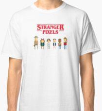 Stranger things - Pixel serie Classic T-Shirt