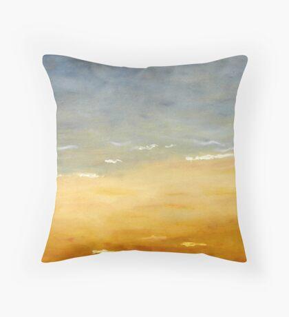 Australia Landscape-Upper tryptch Throw Pillow