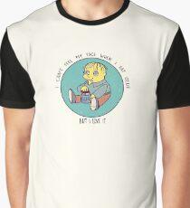 Ralph Wiggum eating glue Graphic T-Shirt