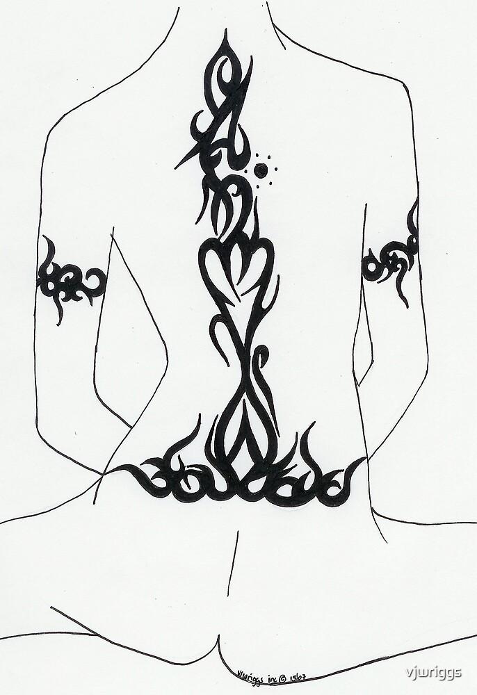 Lady back Tatt by vjwriggs
