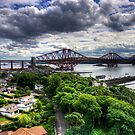 The Bridge from North Queensferry by Tom Gomez