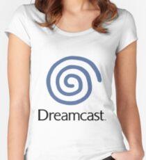 SEGA DREAMCAST LOGO Women's Fitted Scoop T-Shirt