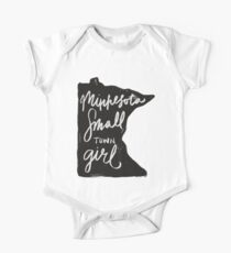 Minnesota Small Town Girl One Piece - Short Sleeve