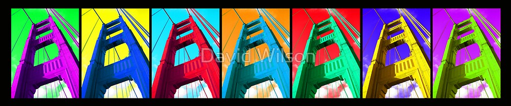Color Bridge by David Wilson