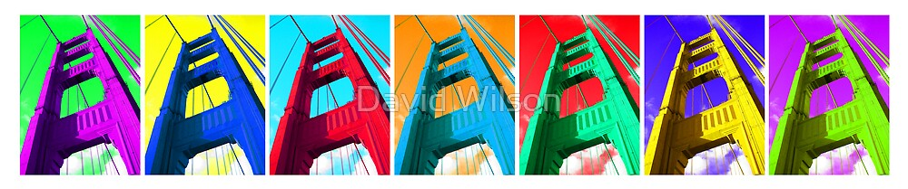 Color Bridge by David Wilson