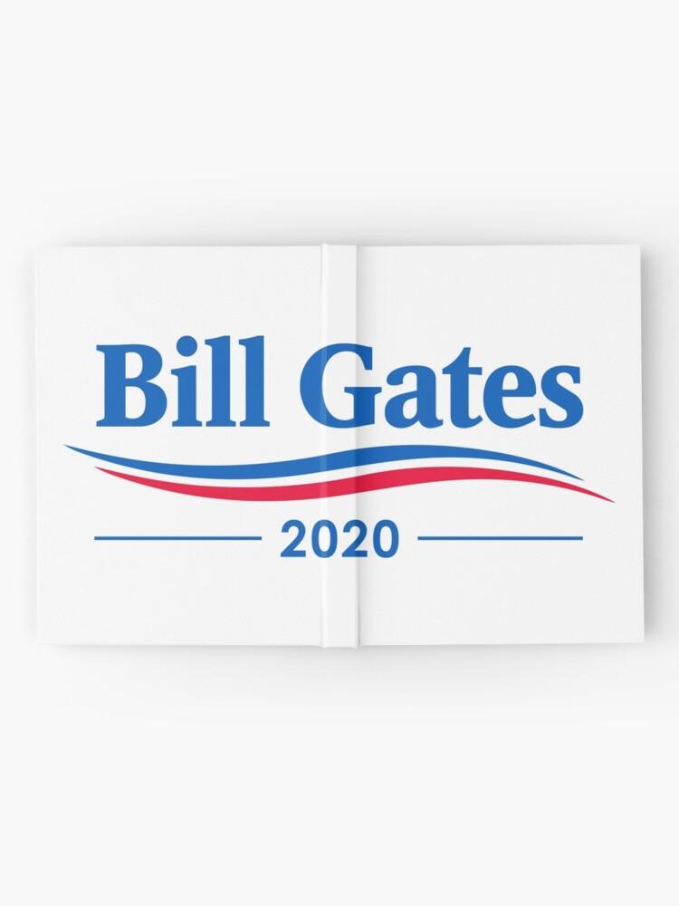 Alternative Ansicht von Bill Gates 2020 Notizbuch