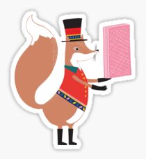 Fredrick Fox Sticker