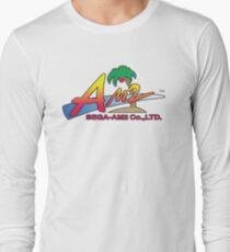 SEGA AM2 LOGO YU SUZUKI Long Sleeve T-Shirt