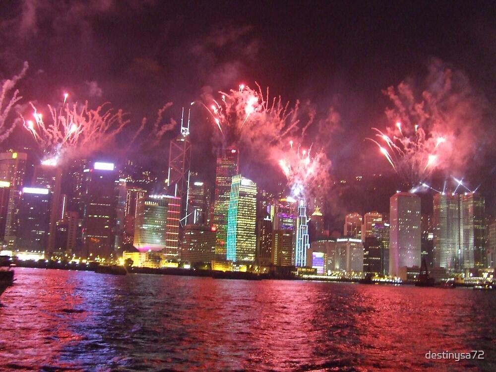 Hong Kong Symphony of Lights by destinysa72