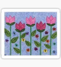 Tulip Garden Sticker