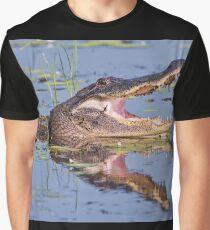 Lacassine Laughter Graphic T-Shirt