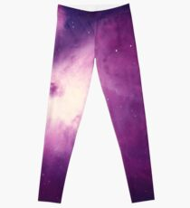 Purple Space Leggings