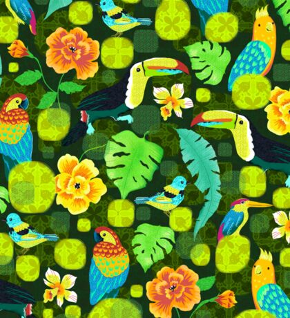 Tropical spirits Sticker