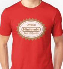 OFFICIAL NINTENDO SEAL OF QUALITY Unisex T-Shirt