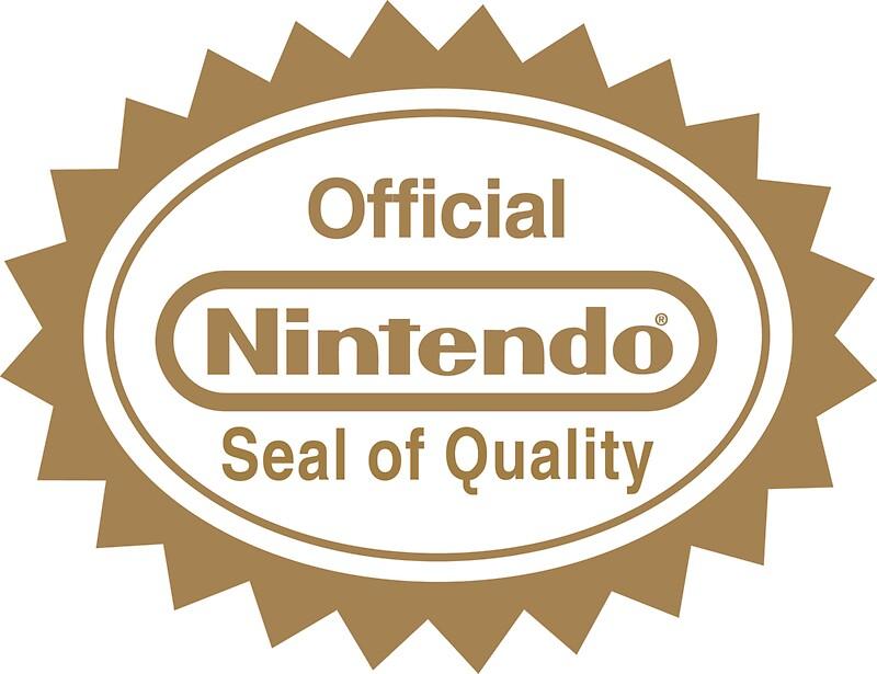 Resultado de imagem para seal of quality Nintendo