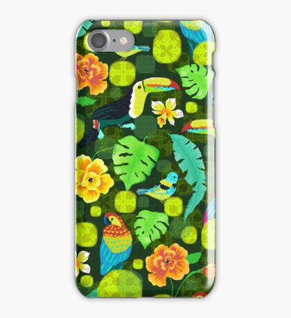Tropical spirits iPhone Case/Skin