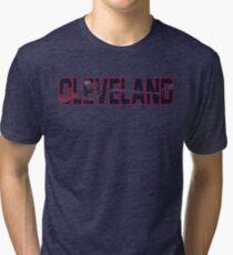CLEVELAND (Indians) Tri-blend T-Shirt