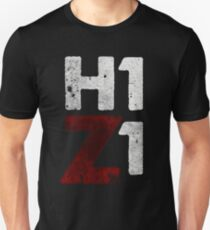H1Z1 HQ print black Unisex T-Shirt