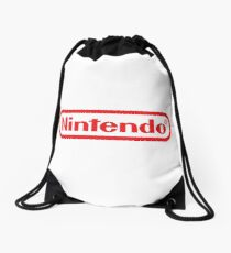 Nintendo Logo Official Drawstring Bag
