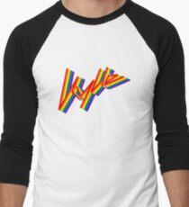 Kylie Pride Men's Baseball ¾ T-Shirt