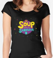 Soup and a Sandwich Women's Fitted Scoop T-Shirt