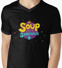 Soup and a Sandwich Men's V-Neck T-Shirt
