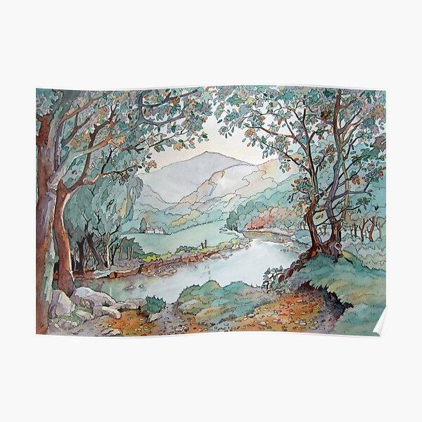 Afon Glaslyn Poster