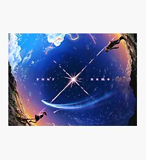 Kimi No Na Wa Stars Photographic Print