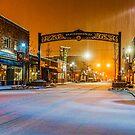 A little snow.../Redmond by Richard Bozarth