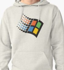 WINDOWS 95 LOGO RETRO Pullover Hoodie