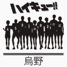Haikyuu!! Team Karasuno by Volt Rias