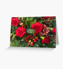 Christmas in Red Greeting Card