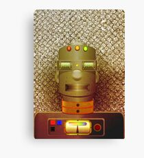 Cool Robot Canvas Print