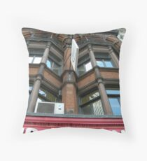 Changing face of Europe Throw Pillow