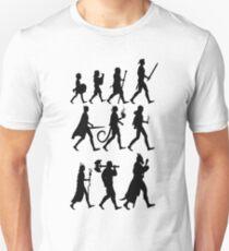RPG Races Chart - Black T-Shirt