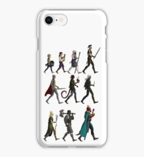 RPG Races Chart - Colour iPhone Case/Skin