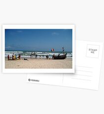 Today's catch at Kokrobite, in Ghana Postcards