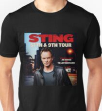 TOUR 2017 STING 5TH 9TH MIDAH Unisex T-Shirt