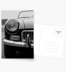 Classic MG Postcards
